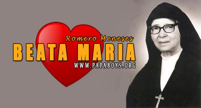 Beata María Romero Meneses, 7 Luglio