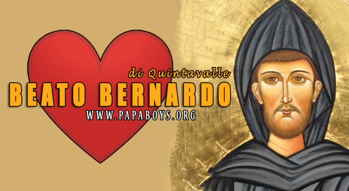 Beato Bernardo di Quintavalle, 10 Luglio 2020