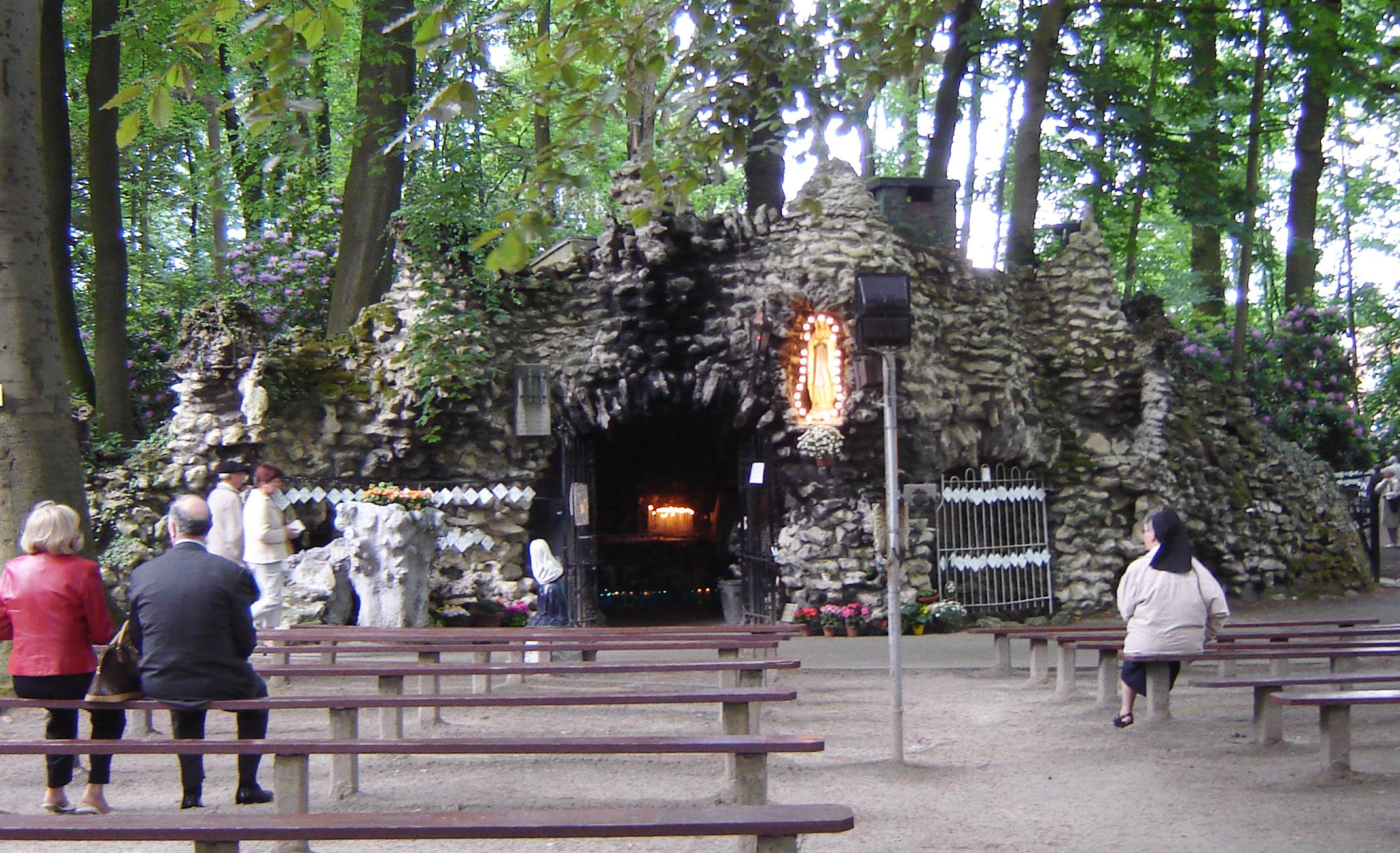 Grotta di Lourdes Oostakke