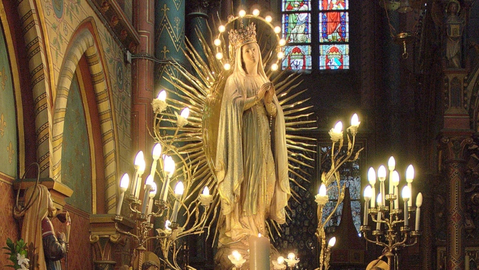 Madonna di Lourdes a Oostakke (www.sodalitium