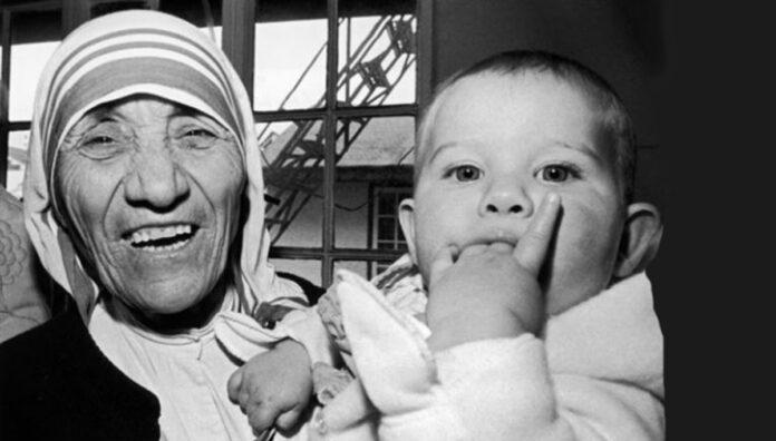 Preghiera di Madre Teresa di Calcutta