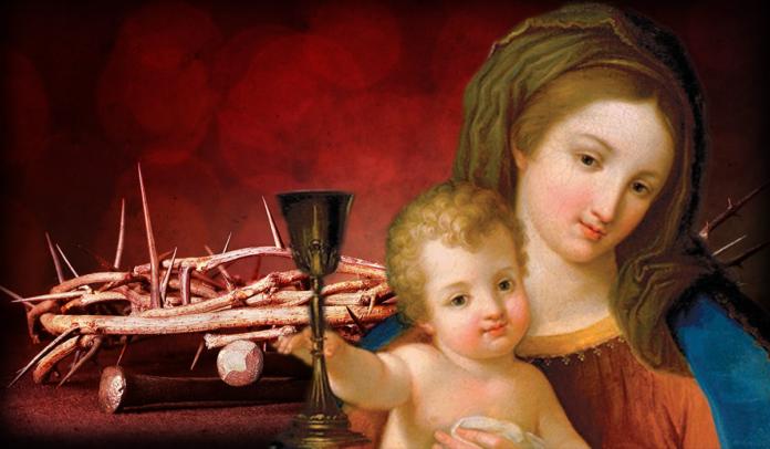 Maria Signora e Regina del Preziosissimo Sangue