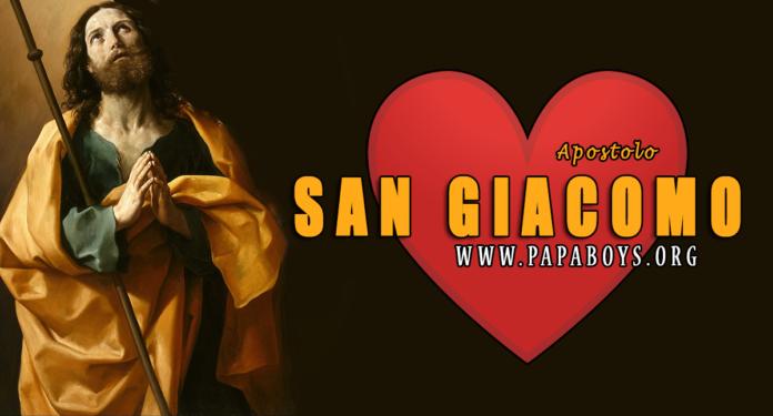 San Giacomo il Maggiore, Apostolo, 25 Luglio 2020