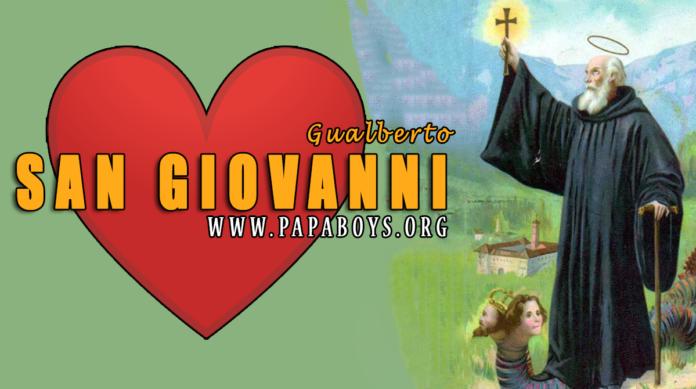 San Giovanni Gualberto, 12 Luglio