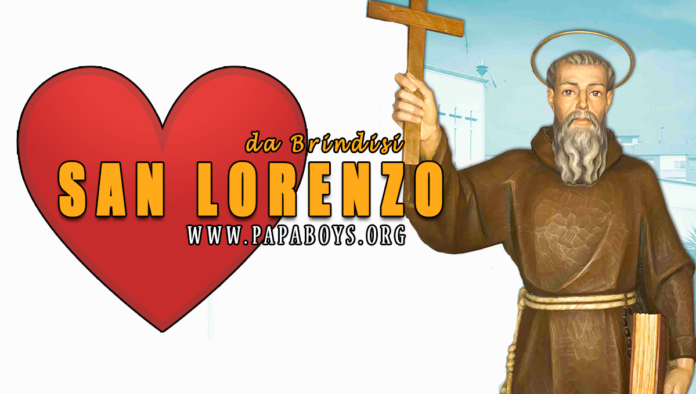 San Lorenzo da Brindisi, 21 Luglio 2020