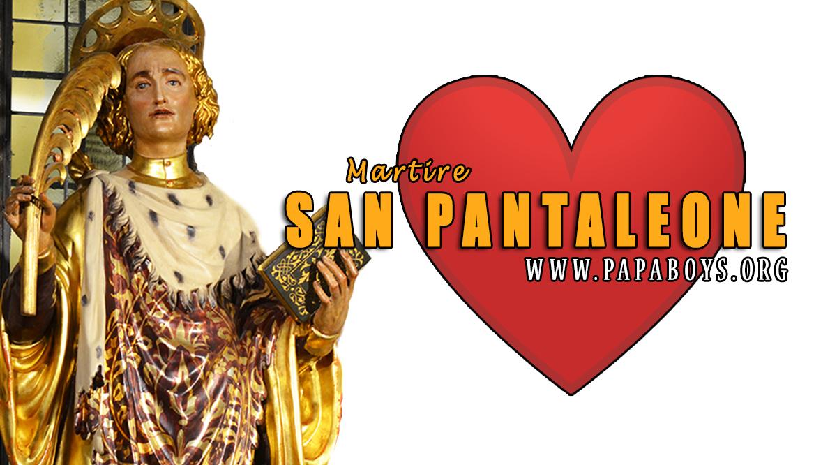 Il Santo del giorno 27 Luglio 2020 San Pantaleone, il medico dei ...