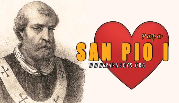 San Pio I, Papa 11 Luglio 2020