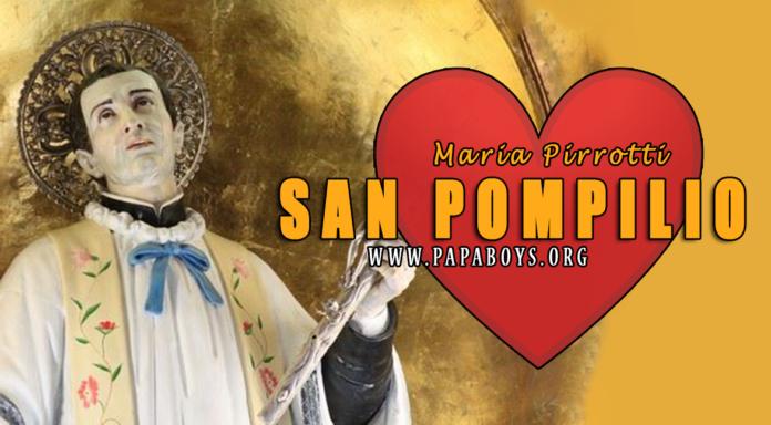 San Pompilio Maria Pirotti, 15 Luglio 2020 - www.paesionline.it