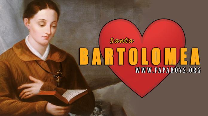 Il Santo del giorno, 26 Luglio 2021: Santa Bartolomea Capitanio, Vergine e Fondatrice