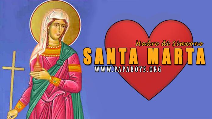 Santa Marta, Madre di Simeone