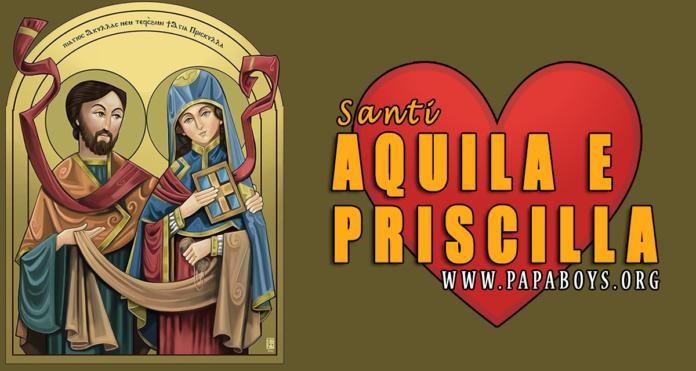 Santi Aquila e Priscilla, 8 Luglio