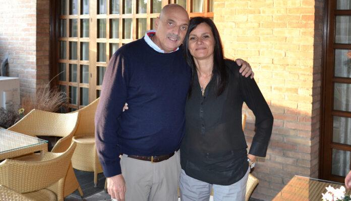 Gigliola Candian e Paolo Brosio