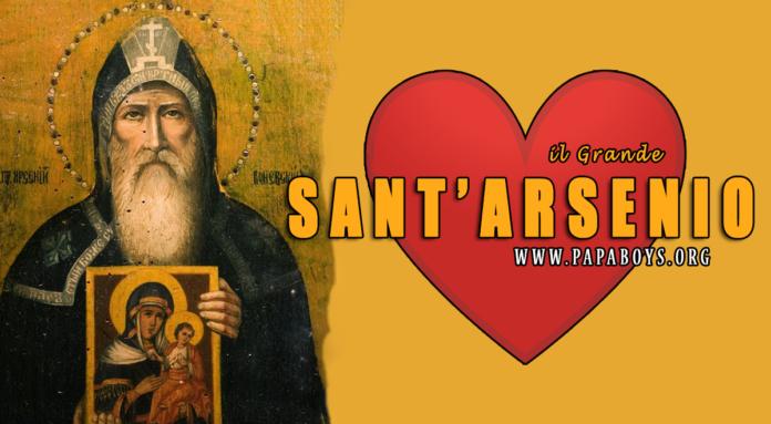 Sant'Arsenio, il Grande - 19 Luglio 2020 (santodelgiorno.it)