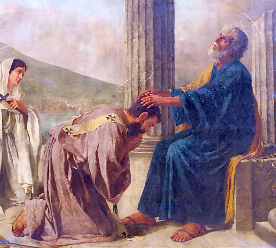 Sant'Aspreno, Vescovo