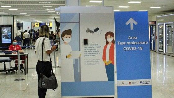 Test Covid in Aeroporto
