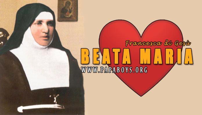 Beata Maria Francesca di Gesù