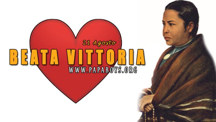 Beata Vittoria Rasoamanarivo, 21 Agosto