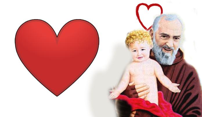 Padre Pio e Gesù Bambino
