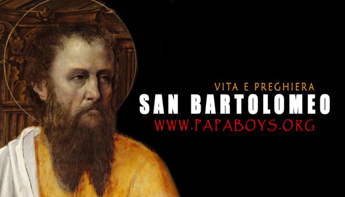 San Bartolomeo, Apostolo 24 Agosto