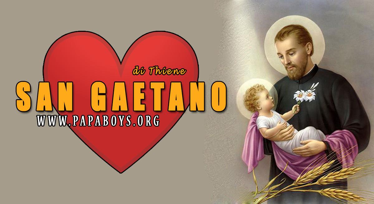 Il Santo del giorno 7 Agosto 2020 San Gaetano di Thiene, il Santo ...