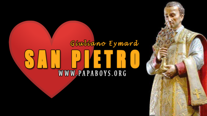 San Pietro Giuliano Eymard, 2 Agosto 2020