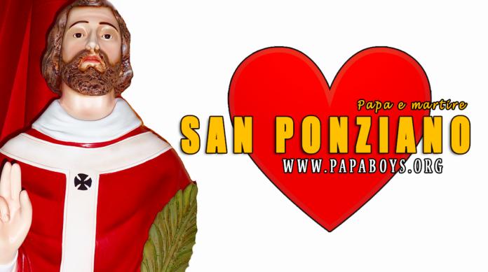 San Ponziano, Papa e Martire 13 Agosto 2020