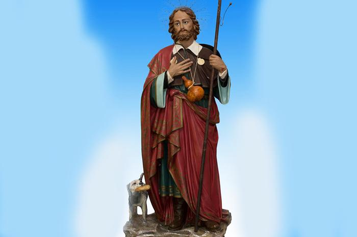 San Rocco, Pellegrino - 16 Agosto