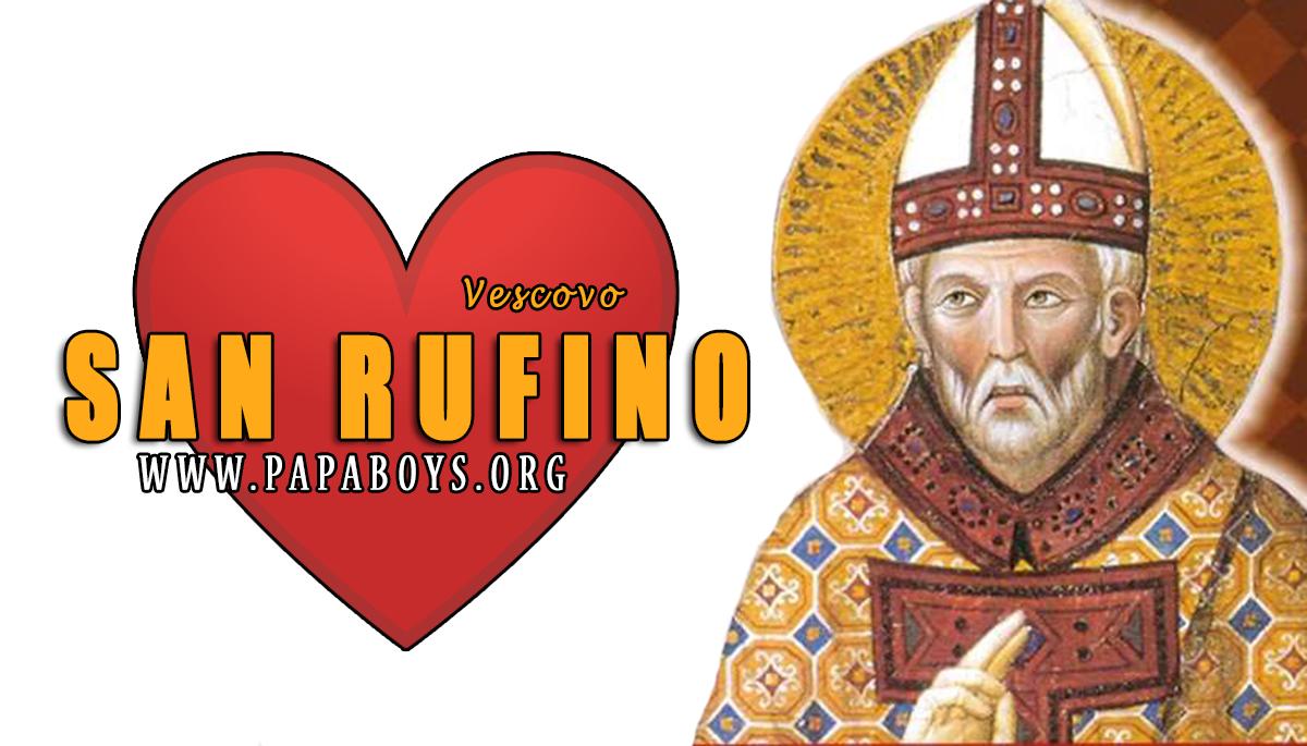 Il Santo del giorno 11 Agosto 2020 San Rufino, Patrono di Assisi