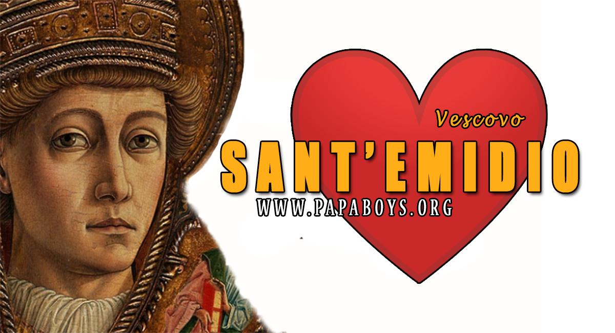 Il Santo del giorno 5 Agosto 2020 Sant'Emidio, il protettore dai ...