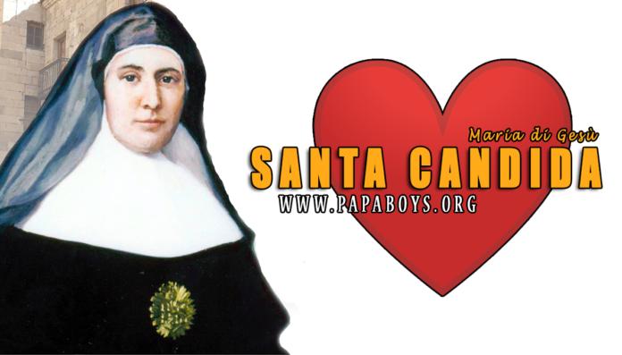 Santa Candida Maria di Gesù, 9 Agosto