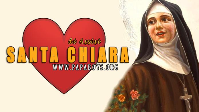 Santa Chiara d'Assisi, 11 Agosto 2020