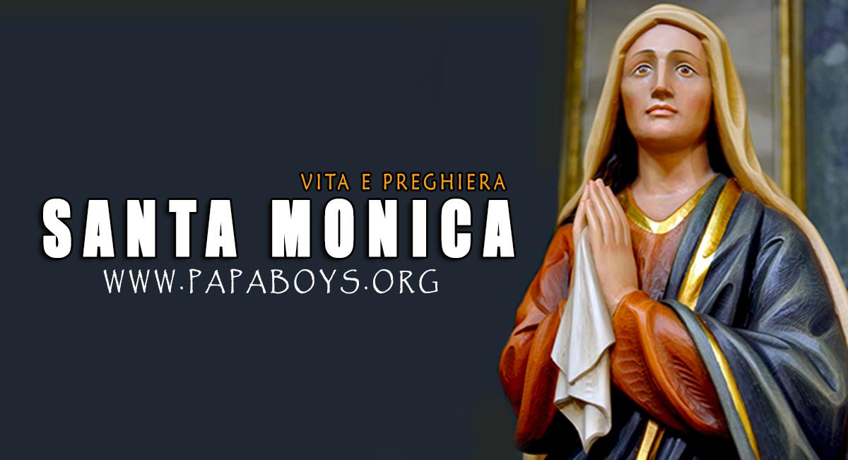 Il Santo del giorno 27 Agosto Santa Monica, Madre di Sant'Agostino ...