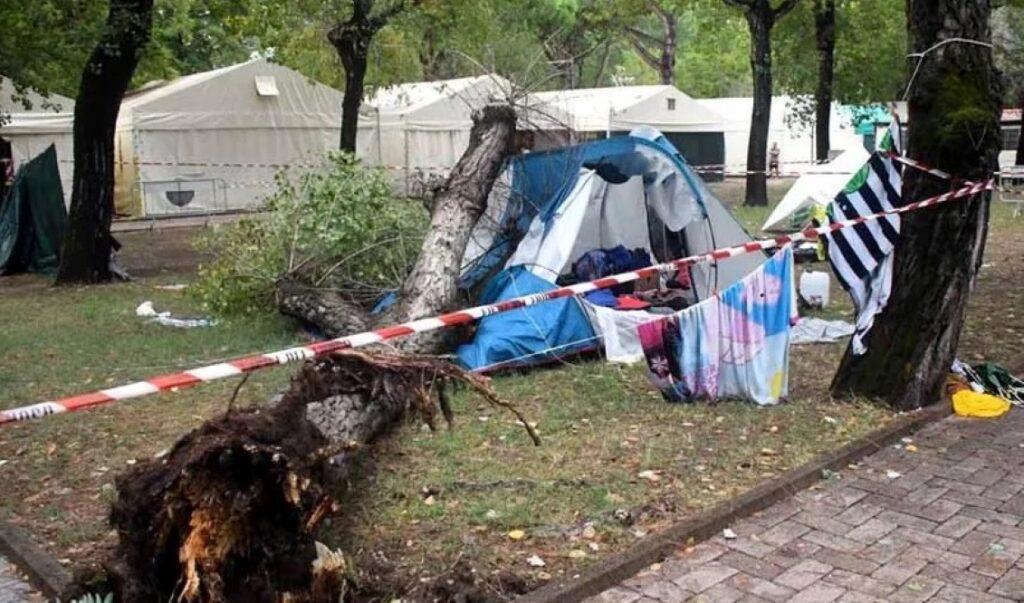 La tenda della disgrazia