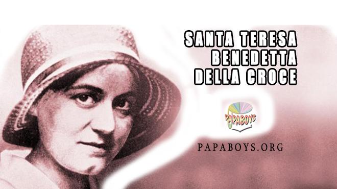 Santa Teresa Benedetta della Croce, 9 Agosto