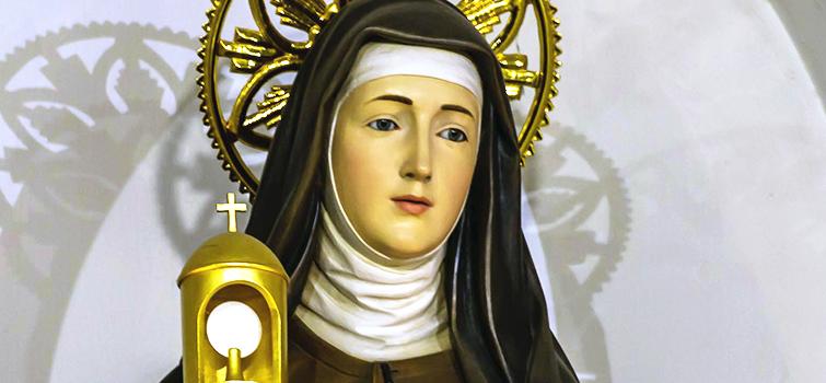 Preghiera a Santa Chiara