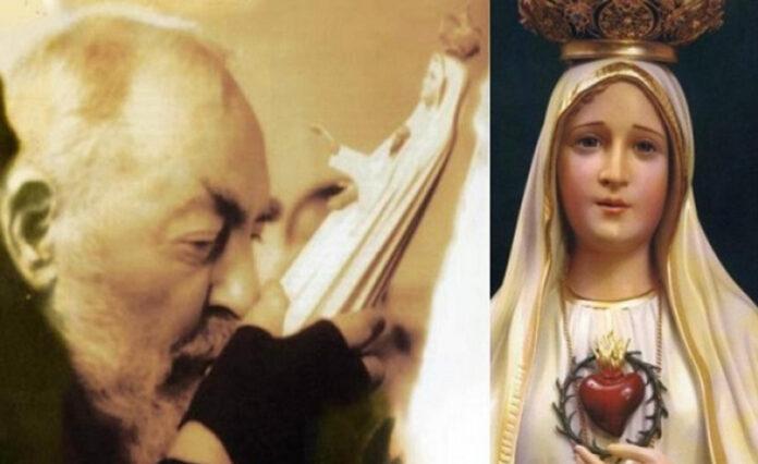 Padre Pio e la Madonna