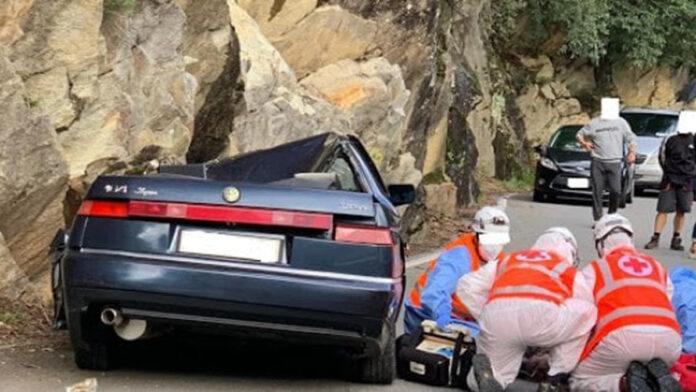 Auto travolta in Valtellina - Lorenzo il Carabiniere eroe