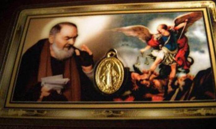 Padre Pio e San Michele