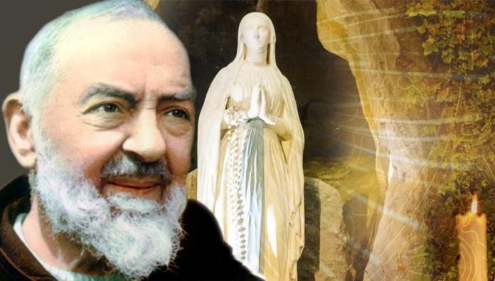 Padre Pio e l'aiuto della Vergine Maria
