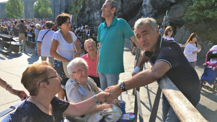 Lourdes: Massimo Giletti