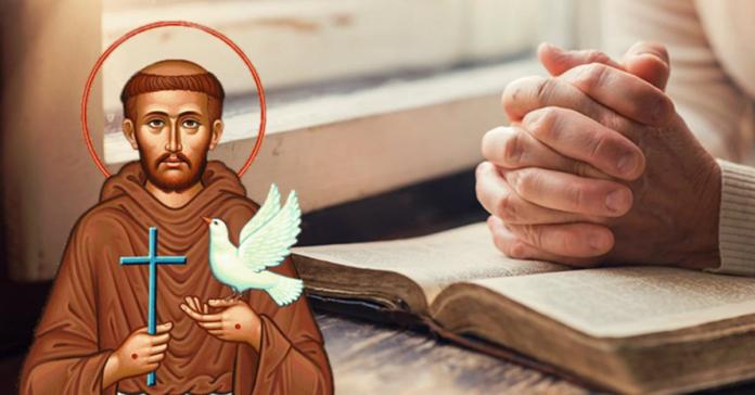 Preghiera a San Francesco d'Assisi