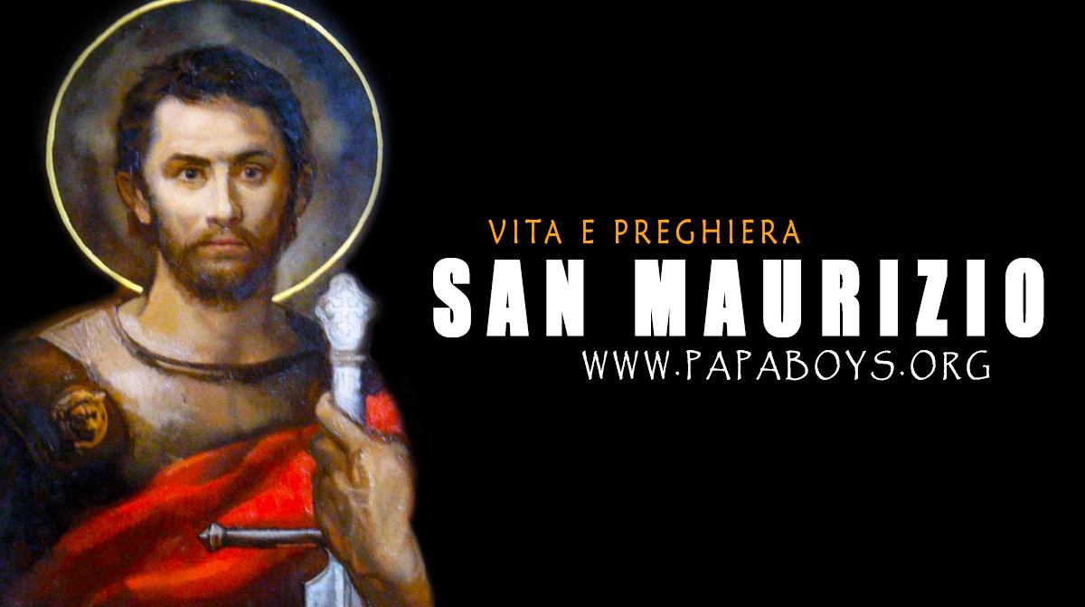 Il Santo del giorno 22 Settembre: San Maurizio e compagni, martiri. Vita e  Preghiera