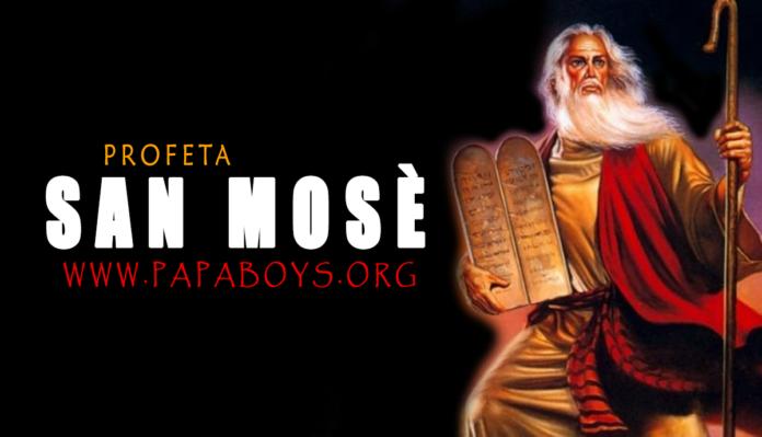 San Mosè, Profeta