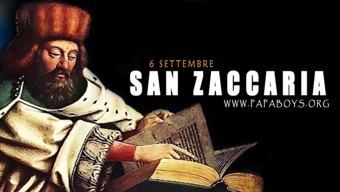 San Zaccaria, Profeta