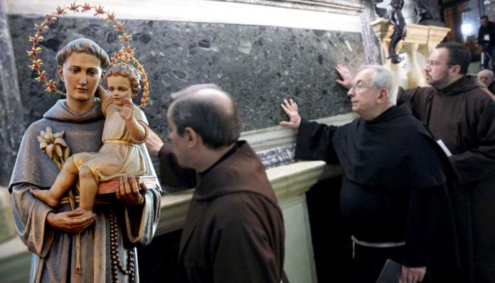 Preghiera a Sant'Antonio di Padova