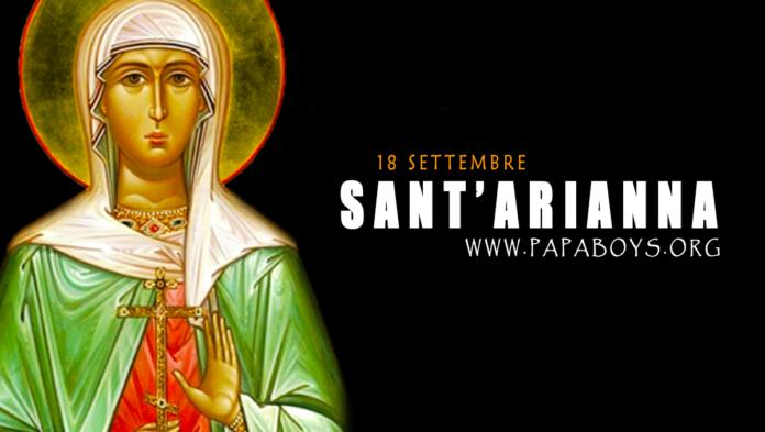 Sant'Arianna, Martire