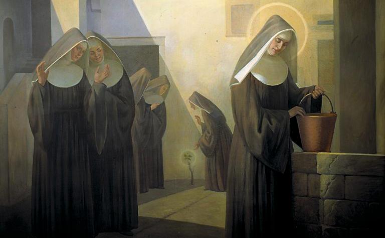 Santa Rita e il miracolo della vite