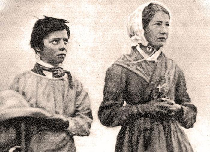 Veggenti dell'apparizione della Vergine de La Salette