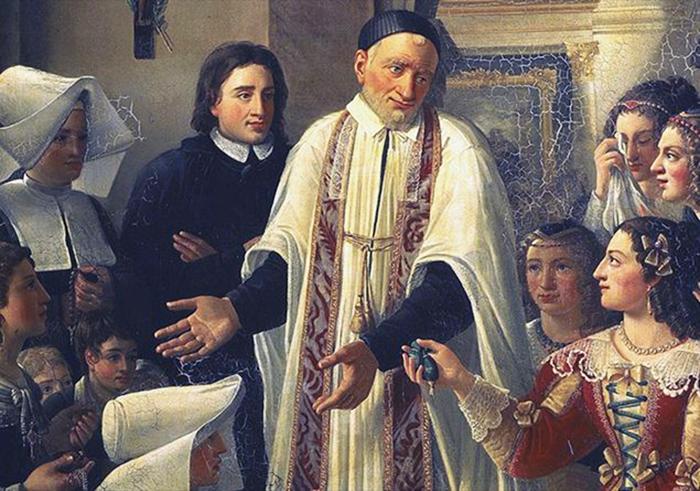 San Vincenzo de' Paoli - Vita e Preghiera
