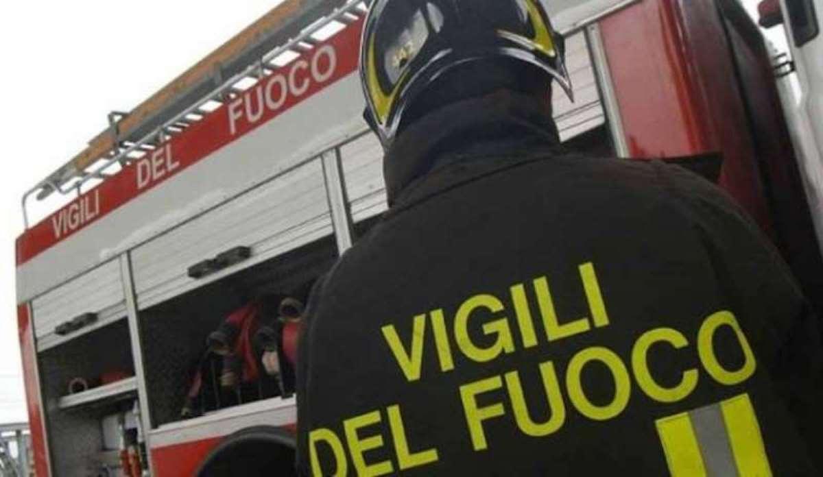 Incendio a Dugenta (Foto dal web)